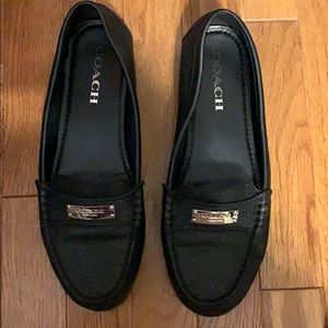Black Coach Loafers.